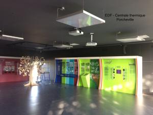 EDF Porcheville Déco intérieure